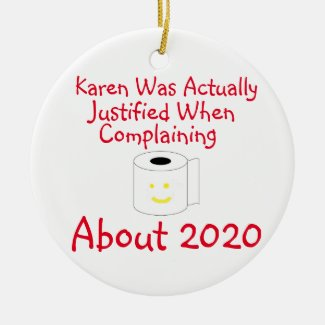 Karen was actually justified when complaining ceramic ornament