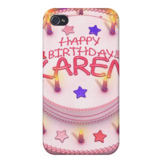 Karen's Birthday Cake Case For iPhone 4