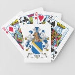 Karg Family Crest Bicycle Poker Cards