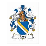 Karg Family Crest Postcard