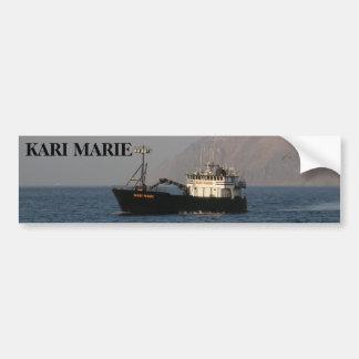 Kari Marie, Crab Boat in Dutch Harbor, AK Bumper Sticker