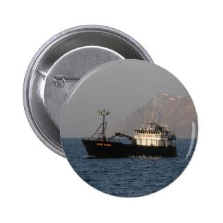 Kari Marie, Crab Boat in Dutch Harbor, AK Button