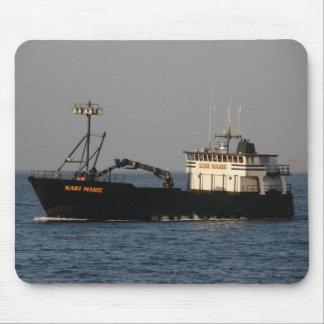 Kari Marie, Crab Boat in Dutch Harbor, AK Mouse Pads