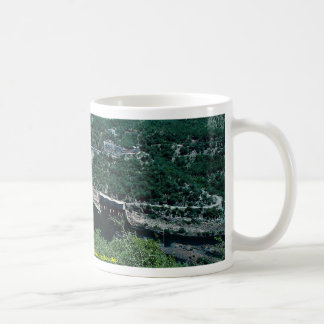 Kariba hydro-electric scheme from Zimbabwe side Coffee Mug