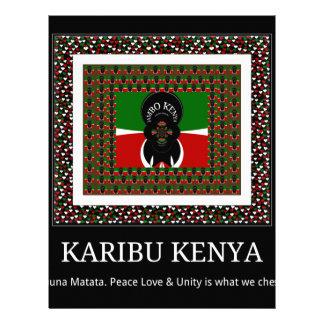 Karibu Kenya Hakuna Matata Letterhead