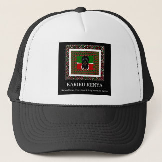 Karibu Kenya Hakuna Matata Trucker Hat
