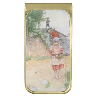 Karin by the Cellar Gold Finish Money Clip