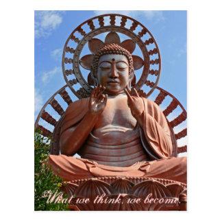 Kariyado Obotoke - Great Image of Buddha. Postcard