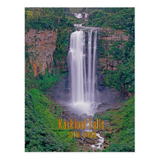 Karkloof Falls, South Africa Postcard
