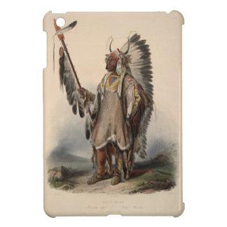 Karl Bodmer - A Mandan chief iPad Mini Covers