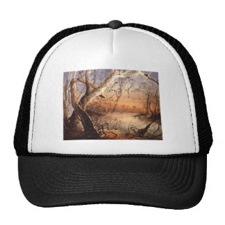Karl Bodmer- Confluence of Fox River the Wabash Trucker Hats