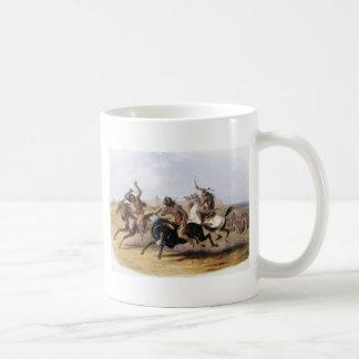 Karl Bodmer - Horse Racing of the Sioux Coffee Mug