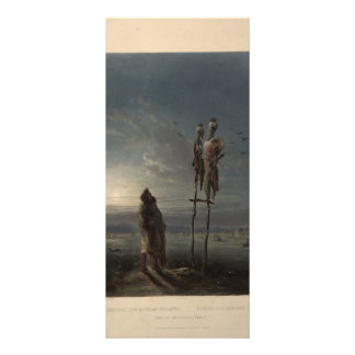 Karl Bodmer- Idols of the Mandan Indians Rack Cards