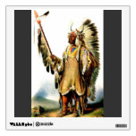 Karl Bodmer- Mato Tope Mandan Chief Wall Stickers