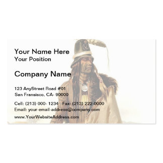 Karl Bodmer- Rolled Scalp Business Cards
