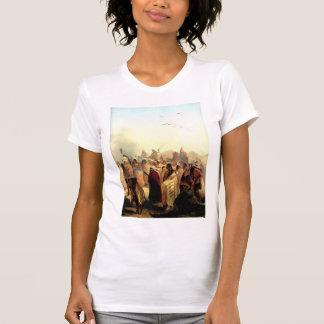 Karl Bodmer- Scalp Dance of the Minatarres Tshirt