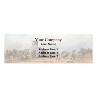 Karl Bodmer- The church of New Harmony Business Cards