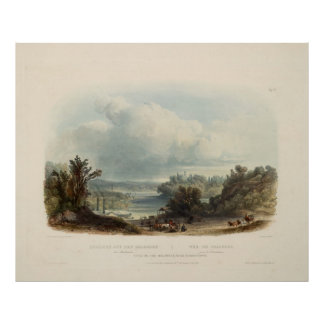 Karl Bodmer: View of the Delaware near Bordentown Poster