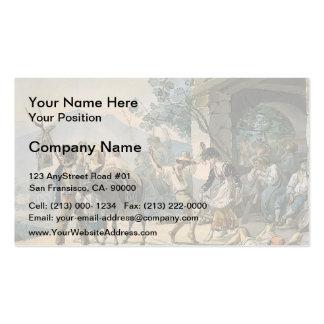 Karl Bryullov- Grape Harvest Celebration Double-Sided Standard Business Cards (Pack Of 100)