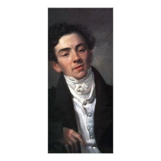 Karl Bryullov- Portrait of Actor A. N. Ramazanov Custom Rack Cards