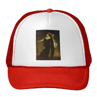 Karl Bryullov-Portrait of Actress Juditta Pasta Trucker Hat
