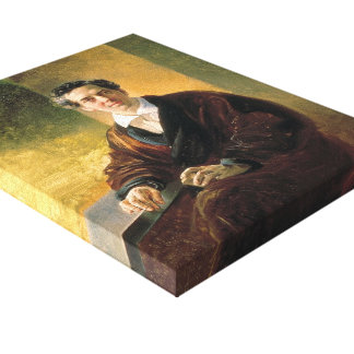 Karl Bryullov- Portrait of Count A. A. Perovsky Stretched Canvas Prints