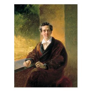 Karl Bryullov- Portrait of Count A. A. Perovsky Postcard