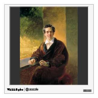 Karl Bryullov- Portrait of Count A. A. Perovsky Wall Decal