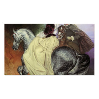 Karl Bryullov-Portrait of Ye. Mussart&E. Mussart Double-Sided Standard Business Cards (Pack Of 100)