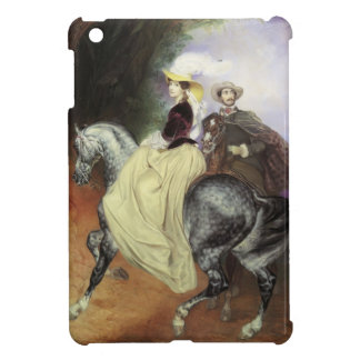 Karl Bryullov-Portrait of Ye. Mussart&E. Mussart iPad Mini Cover