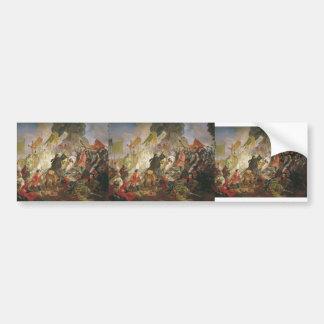 Karl Bryullov- Siege of Pskov by Polish King Bumper Sticker