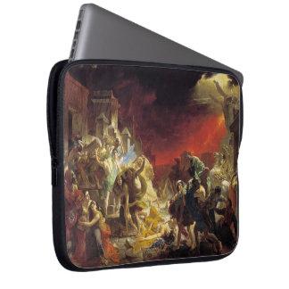 Karl Bryullov- The Last Day of Pompeii Laptop Sleeves