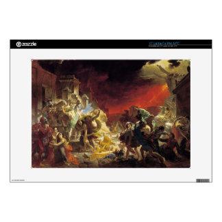 "Karl Bryullov- The Last Day of Pompeii 15"" Laptop Skin"