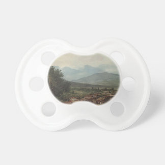 Karl Bryullov- Village of San Rocco Town of Corfu Baby Pacifiers