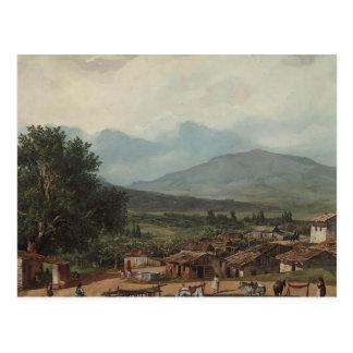 Karl Bryullov- Village of San Rocco, Town of Corfu Postcard