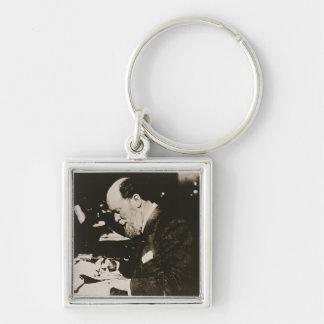 Karl Faberge (1846-1920) at work, 20th century (b/ Keychains