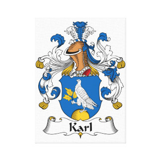 Karl Family Crest Canvas Prints
