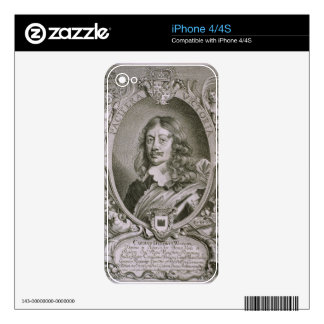 Karl Gustav Wrangel (1603-73) from 'Portraits des Decals For The iPhone 4