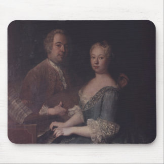 Karl-Heinrich Graun and his wife Anna-Louise Mouse Pads
