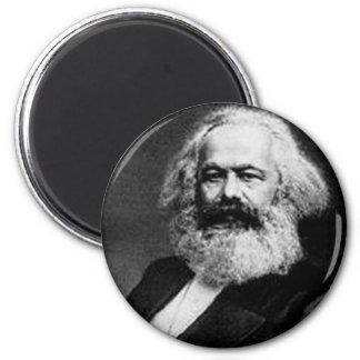 Karl Marx 2 Inch Round Magnet