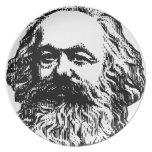 Karl Marx -4jtd4 Plate
