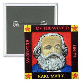 Karl MARX button badge