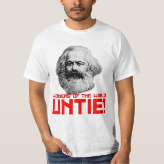 ¿Karl Marx? Camiseta del valor Remeras