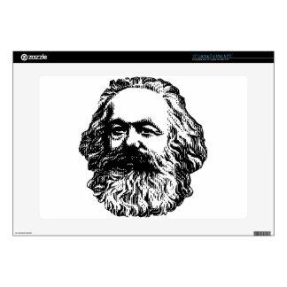 """Karl Marx - Communism 15"""" Laptop Decal"""