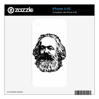 Karl Marx - Communism Decal For The iPhone 4