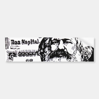 Karl Marx - Das Kapital Car Bumper Sticker
