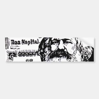 Karl Marx - Das Kapital Pegatina Para Auto