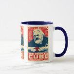 Karl Marx - el cubo de la gente: Taza de OHP