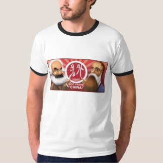 Karl Marx & Friedrich Engels - Laowai.world T-shirt
