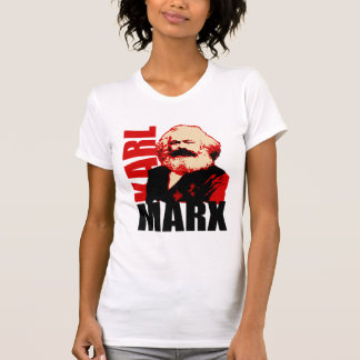 Karl Marx Portrait - Socialist and Communist T-Shirt